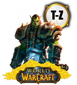 WoW Gold: Server T-Z